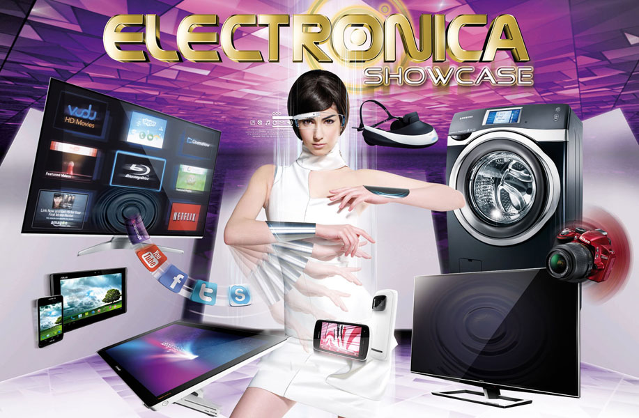 The Mall Group - Electronica Showcase 2012 Promotion Ads