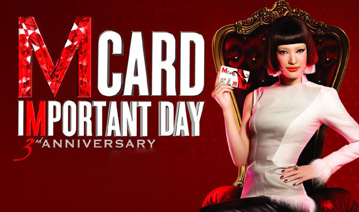 The Mall Group - M Card Important Day 3rd Anniversary