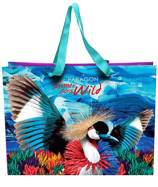 Summer Gone Wild Shopping Bag Design for Siam Paragon
