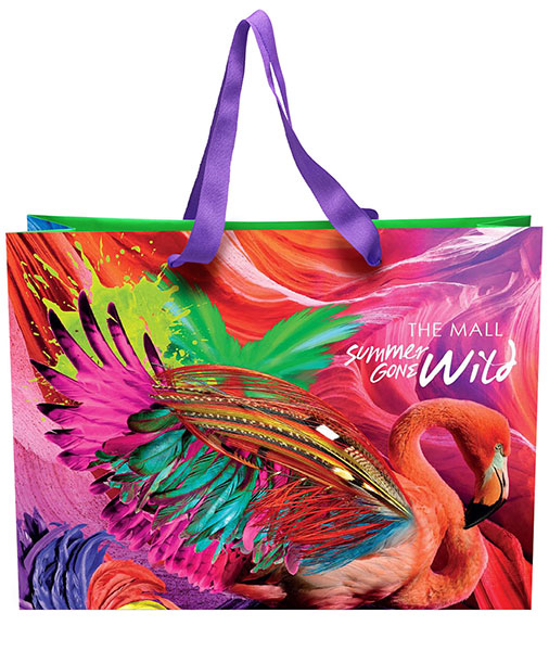 Summer Gone Wild Shopping Bag Design for The Mall